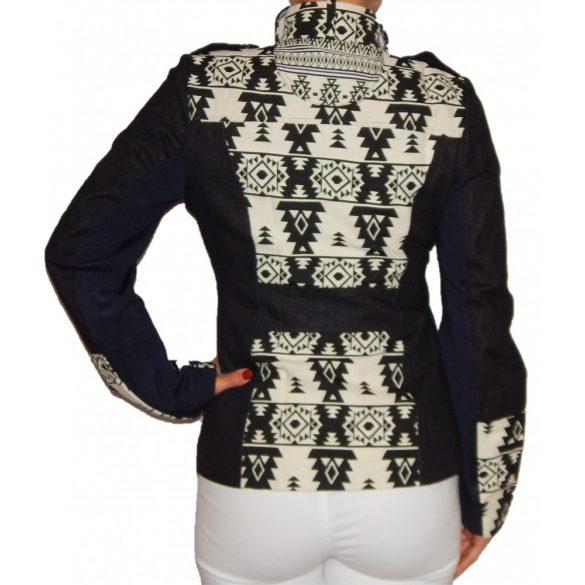 Desigual fekete fehér rövid dzseki Abrig Florencia