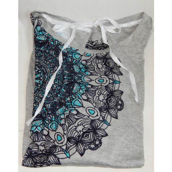 Desigual póló szürke női Ts Saray (XL)
