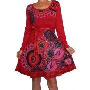 Desigual női piros ruha Vest Naiara