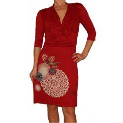 Desigual piros hosszú ujjú ruha Vest Helen