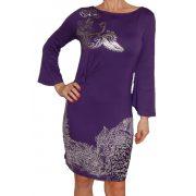 Desigual női lila ruha Vest Natalia