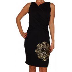 Desigual fekete arany ruha Vest Nati
