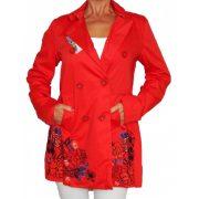 Desigual piros női kabát Abrig Norma