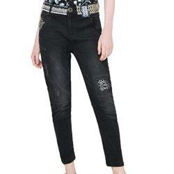 Desigual fekete női farmernadrág Denim Jeans 4