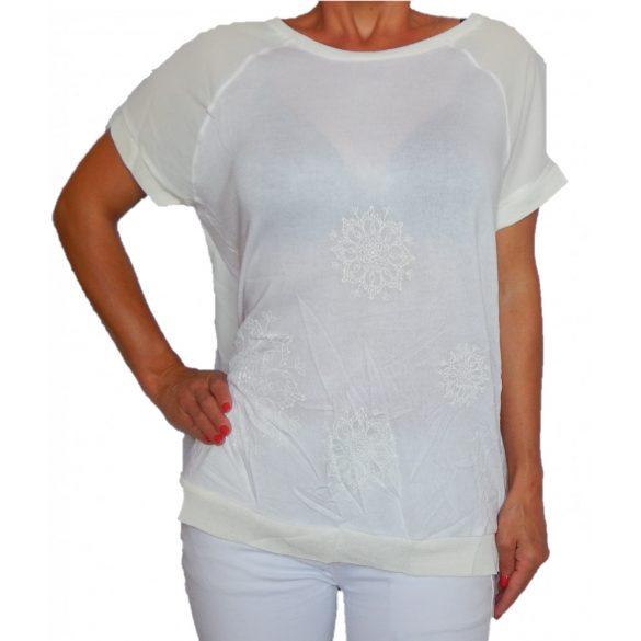 Desigual női krém felső Ts Des Moines(XL)