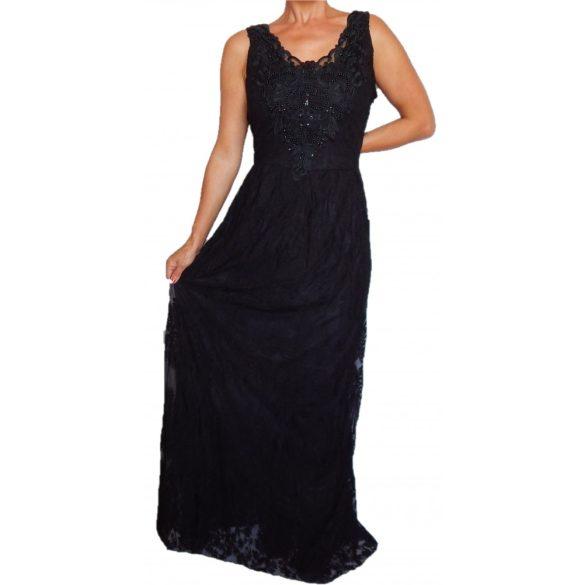 Desigual  női fekete csipkés maxi ruha Vest Alicia