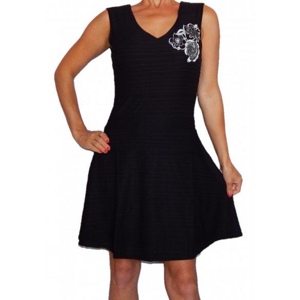 Desigual női fekete ruha Vest Gabriela