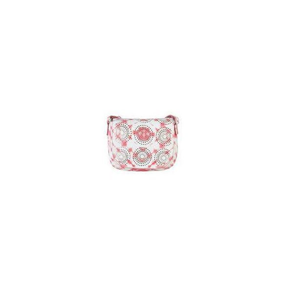 Desigual táska pántos mandalás fehér és rózsaszín