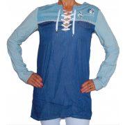 Desigual farmer ing Blus Pannels Long Shirt