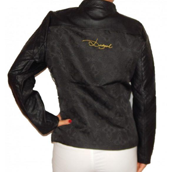 Desigual fekete műbőr dzseki Abrig Coraline