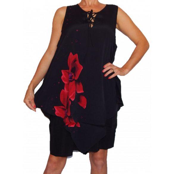 Desigual női ruha Vest Red Flowers Bis