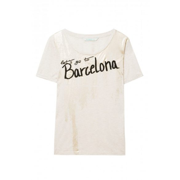 Desigual póló Ts Barcelon (L)