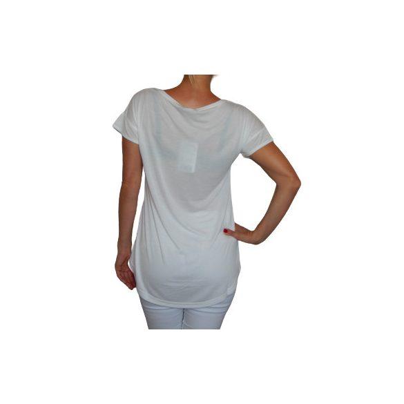 Desigual póló fehér Barcelonás Ts BCN(M)